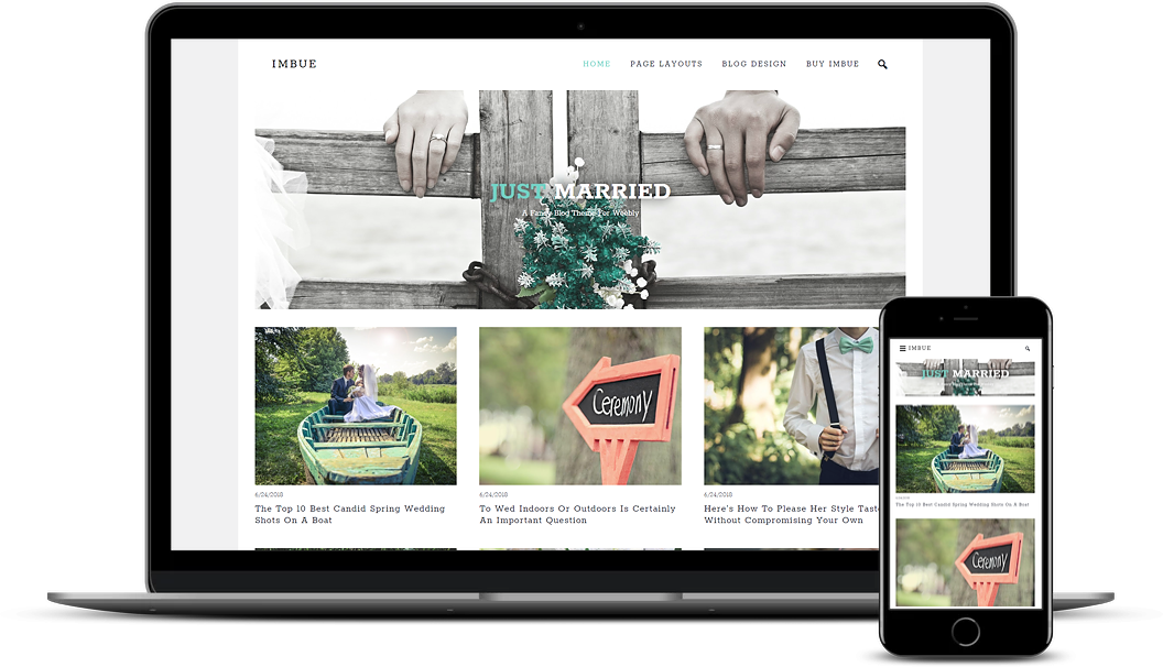 Imbue Weebly Blog Theme